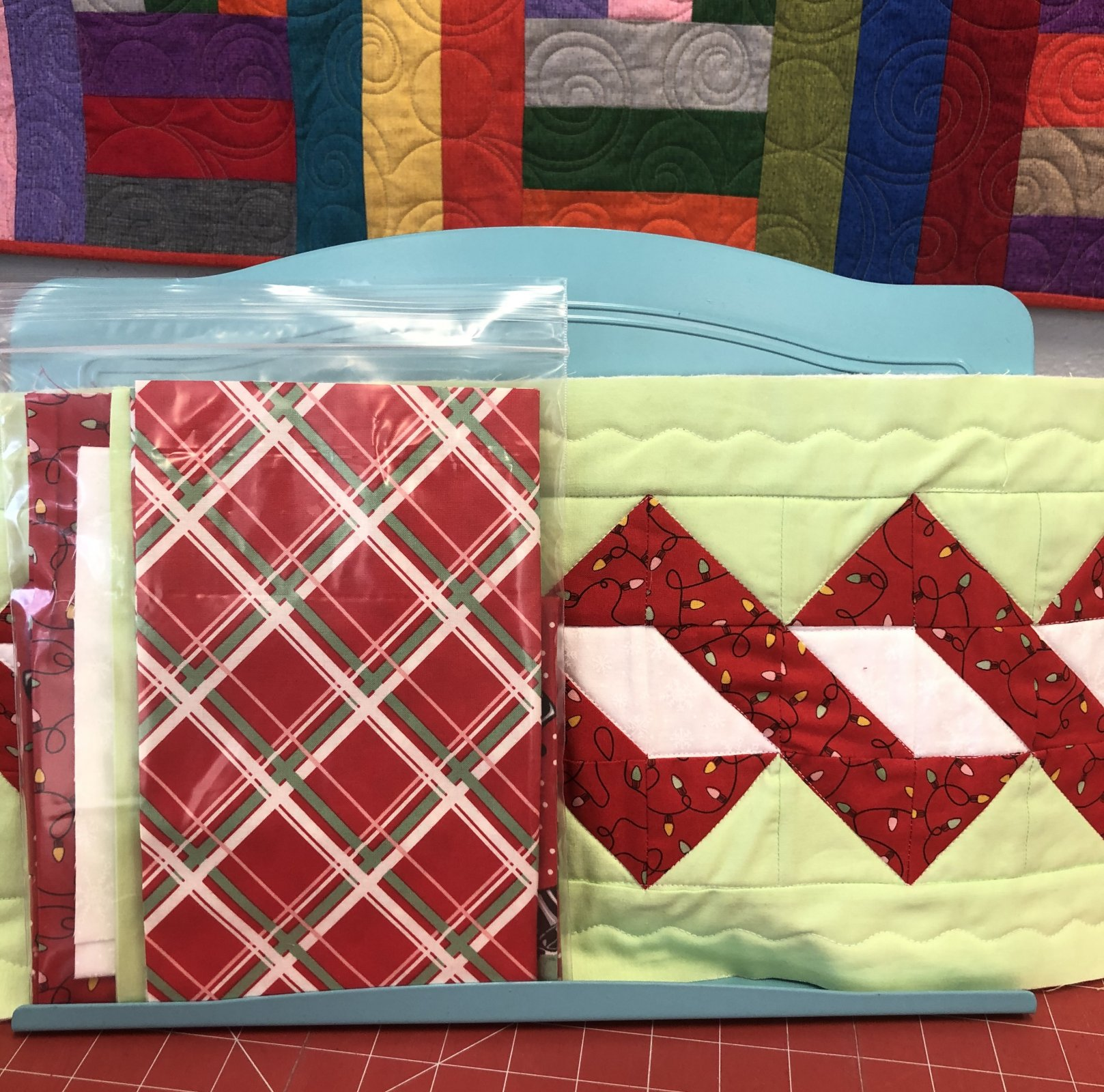 Holiday Candy Twist Table Runner Kit