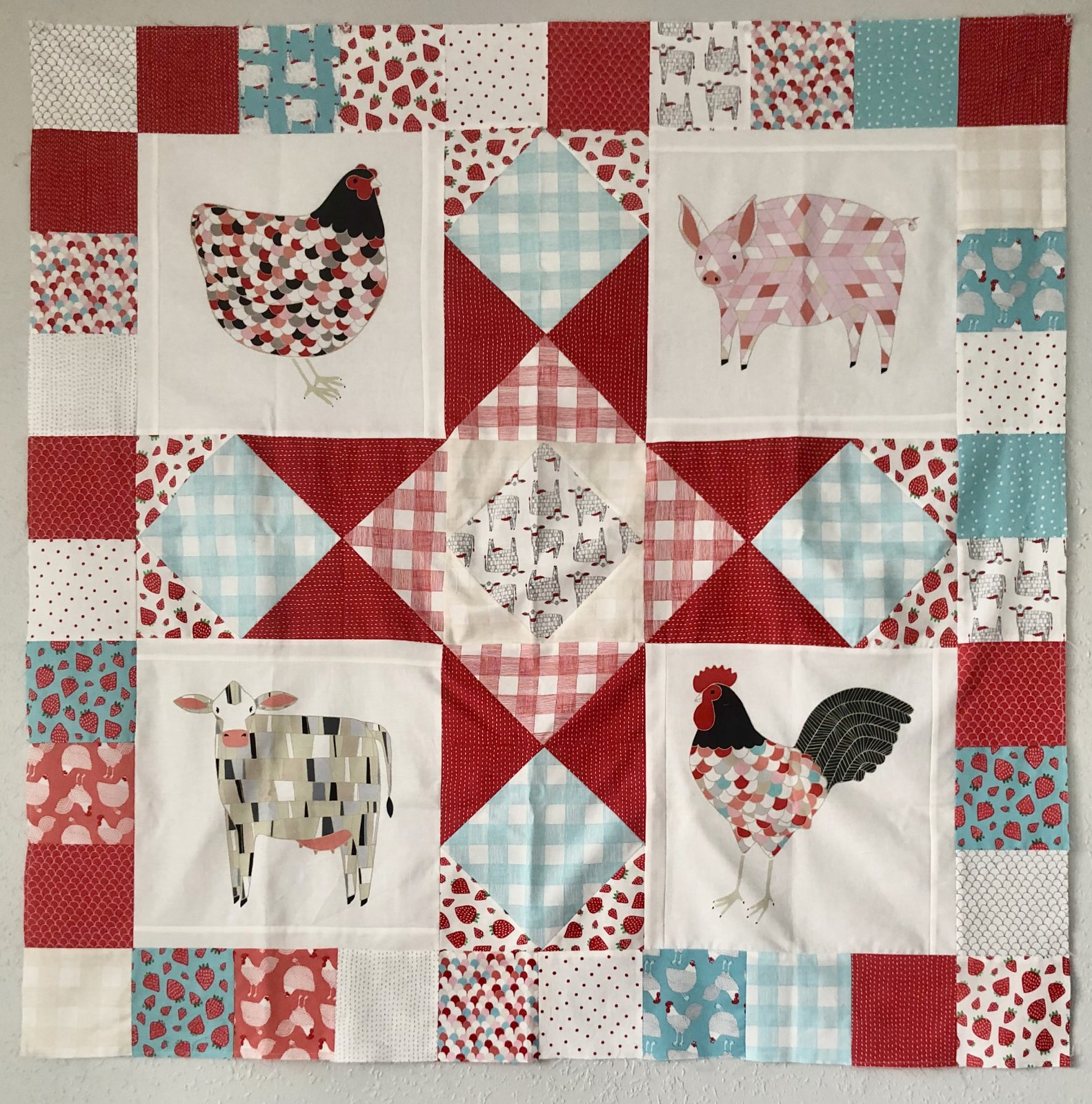 Farm Fresh Quilt Kit
