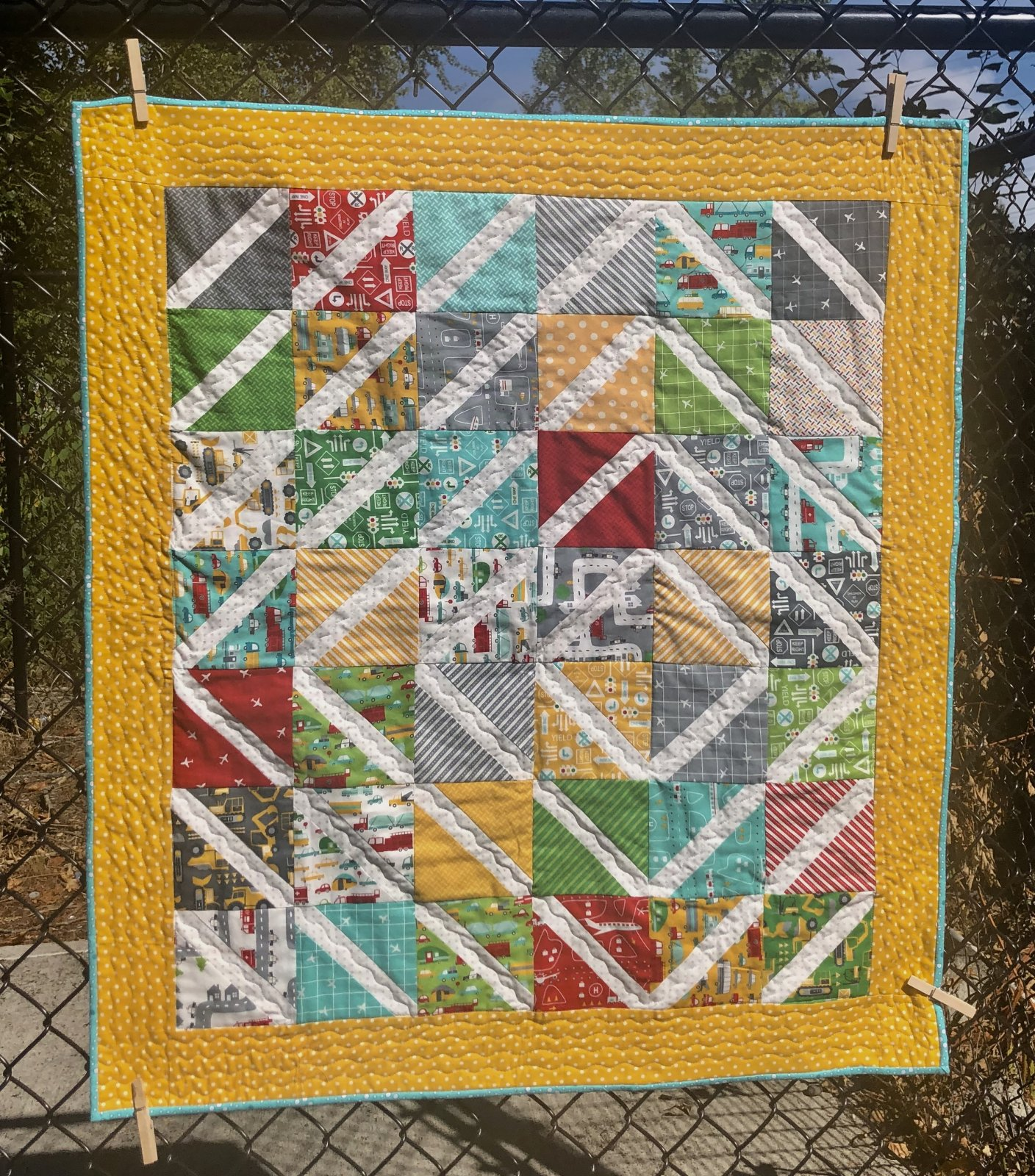 On The Go Baby Quilt Kit