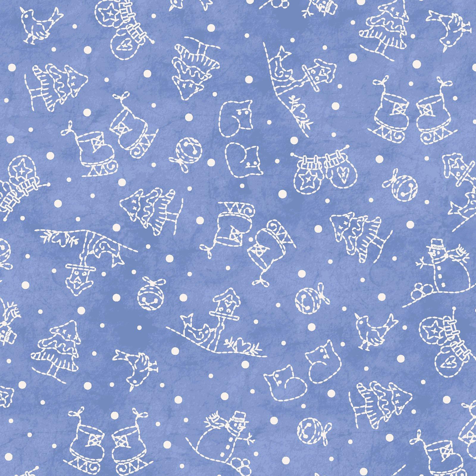 Roly Poly Snowmen  MAS8415-B