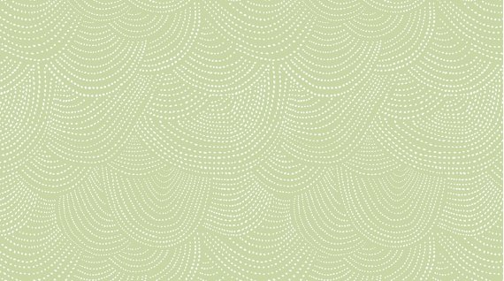 Scallop Dot  Dear Stella Celery SRR512