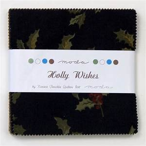 Holly Wishes Charm Pack by Kansas Troubles