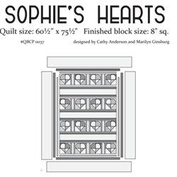 Sophie's Heart Cutie Pattern