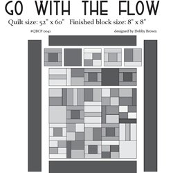 Go With The Flow Cutie Pattern