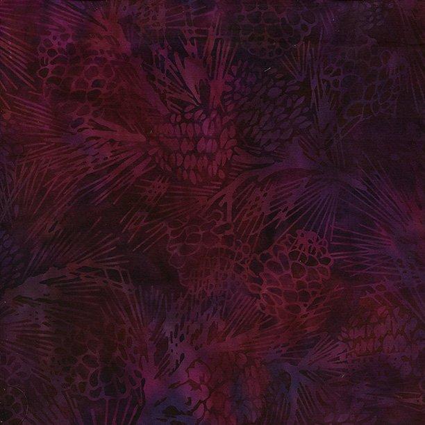 Island Batik Pinecone-Plum-Autumns Grace