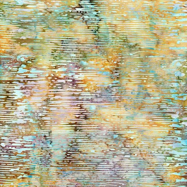 Island Batik Dash-Pond Moss-Autumns Grace