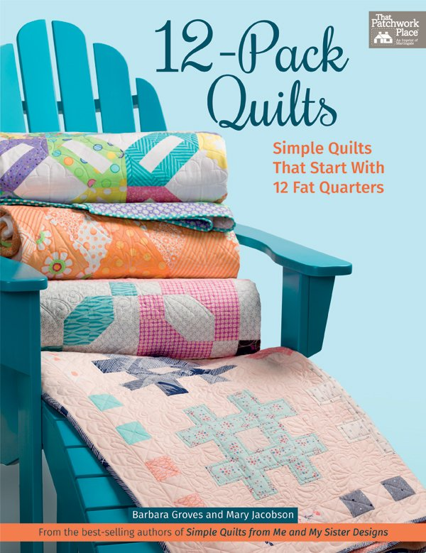 12-Pack Quilts Book