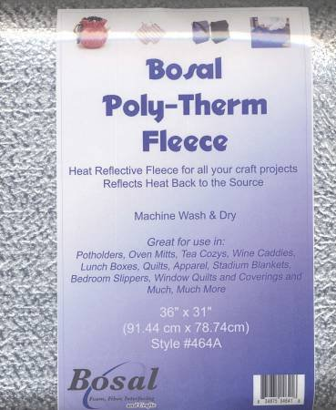 Poly-Therm Heat Reflective Fleece 62in x 10yd