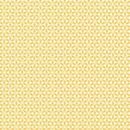 Geo Flower Yellow/White