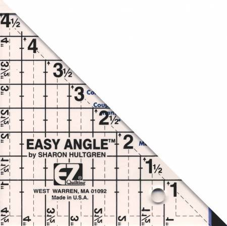 Easy Angle Triangle Ruler 4 1/2