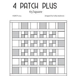 4 Patch Plus Cutie Pattern