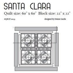 Santa Clara Cutie Pattern