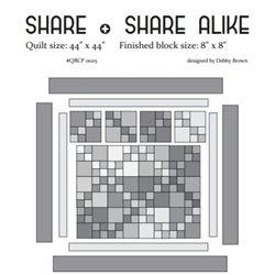 Share  Share Alike Cutie Pattern