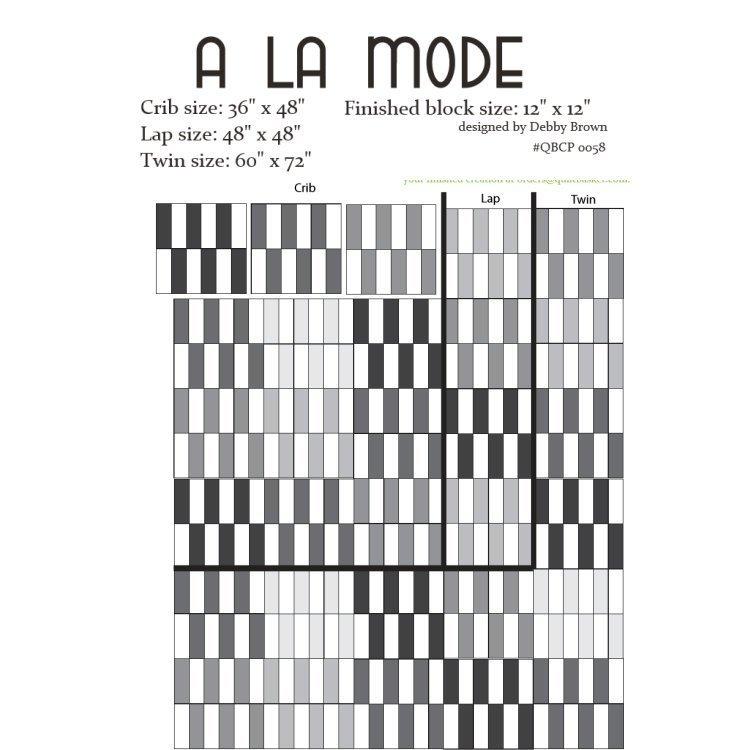 A La Mode Cutie Pattern