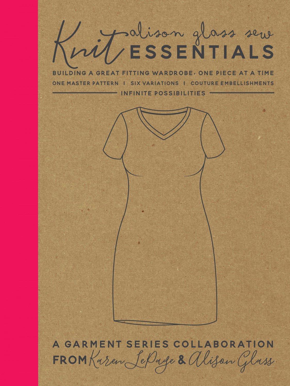 Alison Glass Knit Essentials Dress Pattern