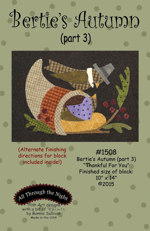 Berties Autumn Thankful For U Part 3