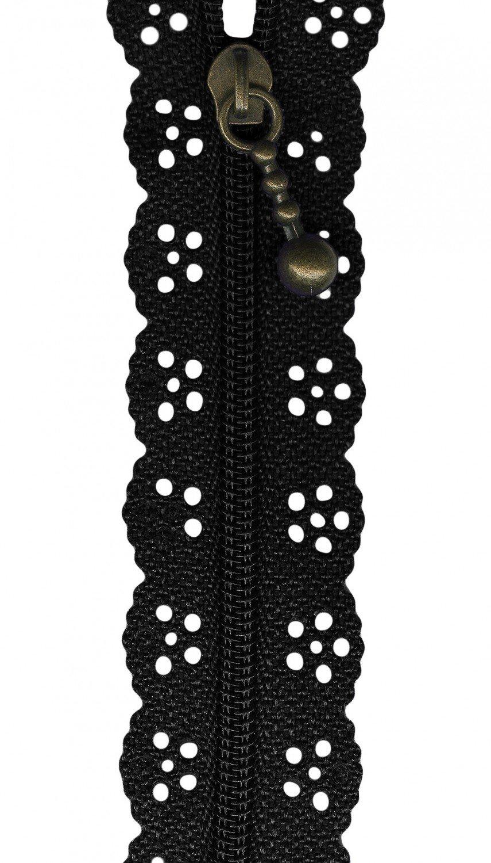 The Little Lacie Zipper Black