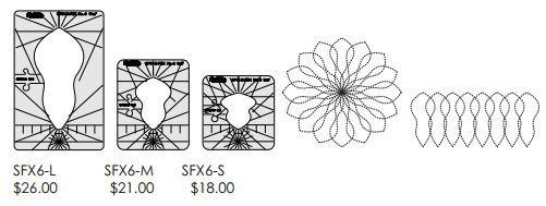 Spin-e-fex Templates (select design and size)  Westalee Design By Sew Steady