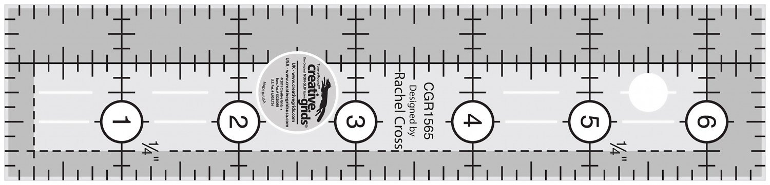 Creative Grids 1 1/2 x 6 1/2 Ruler