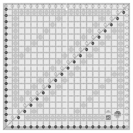 Creative Grids 20 1/2 square ruler