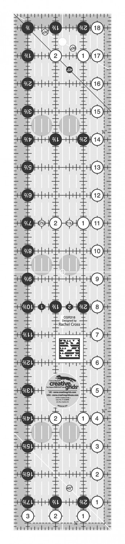Creative Grids 3 1/2 x 18 1/2 Ruler