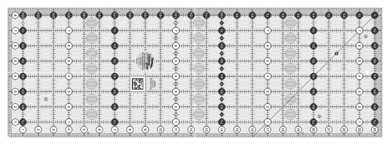 Creative Grids 8 1/2 x 24 1/2 Ruler