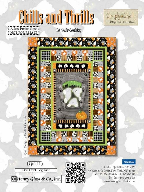 Chills and Thrills Quilt Kit