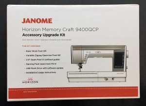 Janome Horizon Memory Craft 9400QCP accessory upgrade kit