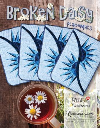 Broken Daisy Placemats Pattern by Judy Niemeyer