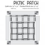 Picnic Patch Cutie Pattern