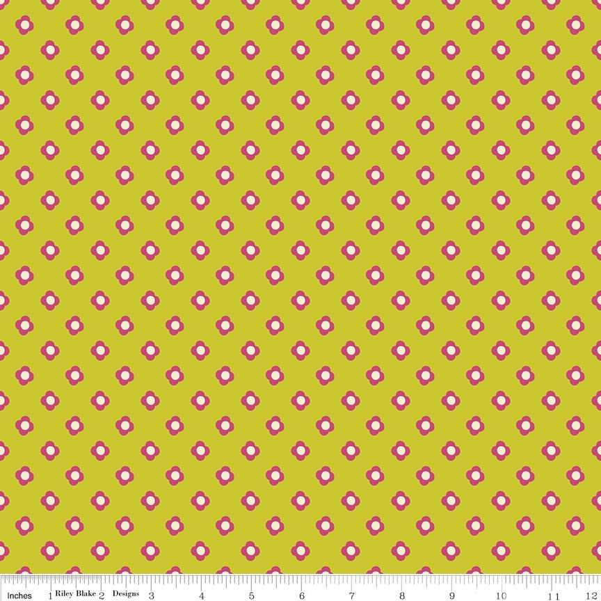 Acorn Valley Bloom Dot Citron