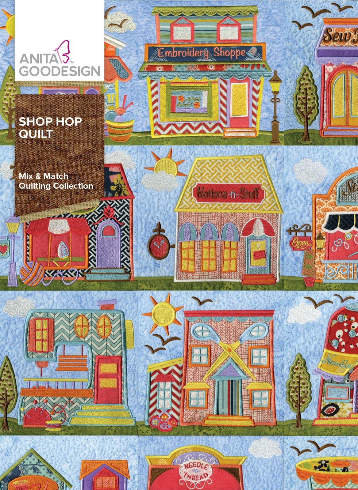 Anita Goodesign shop hop quilt