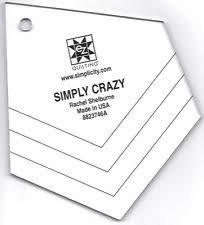 EZ Quilting Simply Crazy Ruler