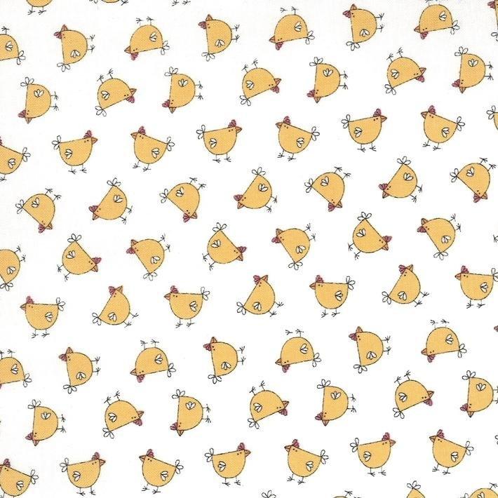 kSpring Chicken Cream Yellow Chicks