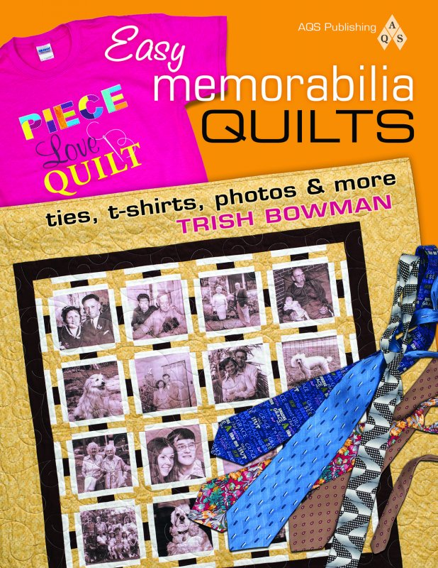 Easy memorabilia Quilts, ties, t-shirts, photos & more