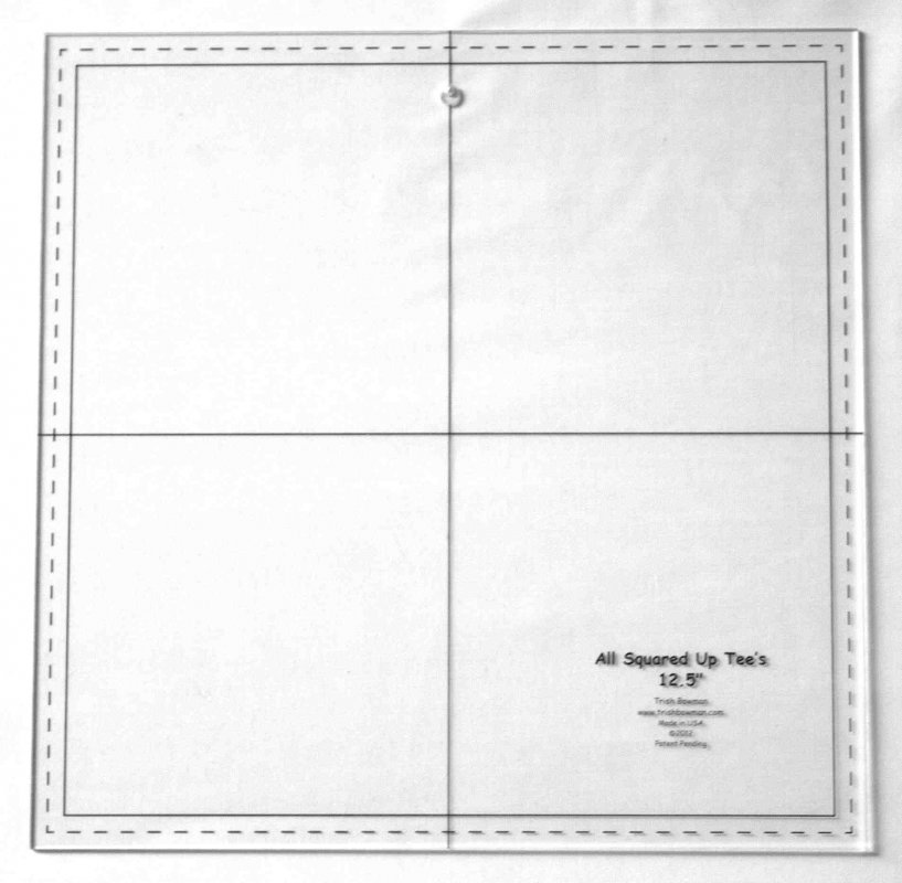 Template - 12 1/2 inch w/center hole