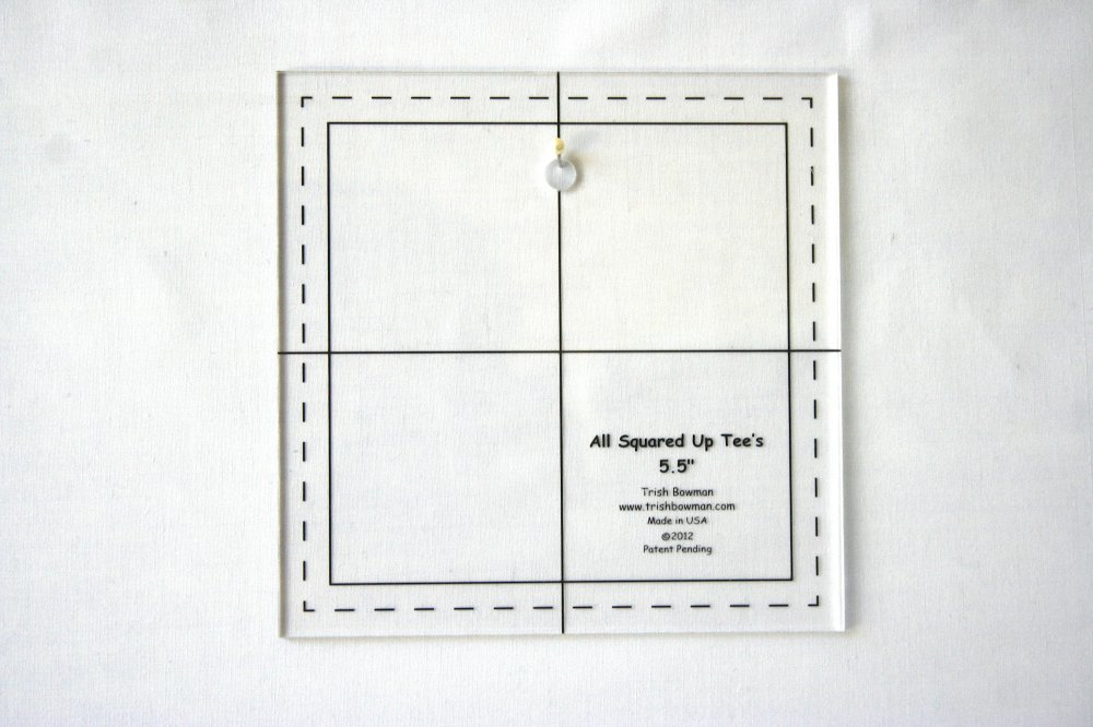 Template - 5 1/2 inch w/center hole