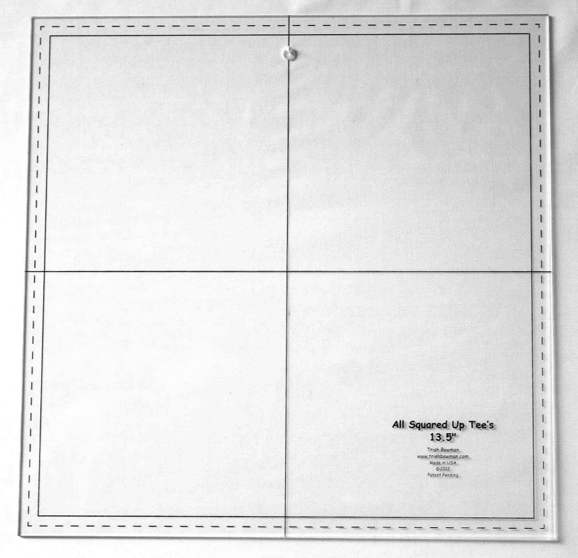 Template - 13 1/2 inch w/center hole