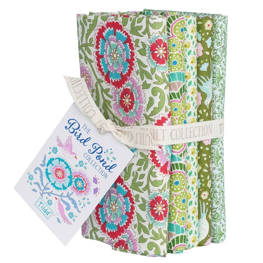 Birdpond Fat Quarter Bundle in Green