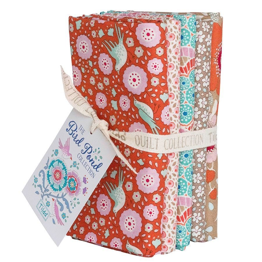 Birdpond Fat Quarter Bundle in Ginger