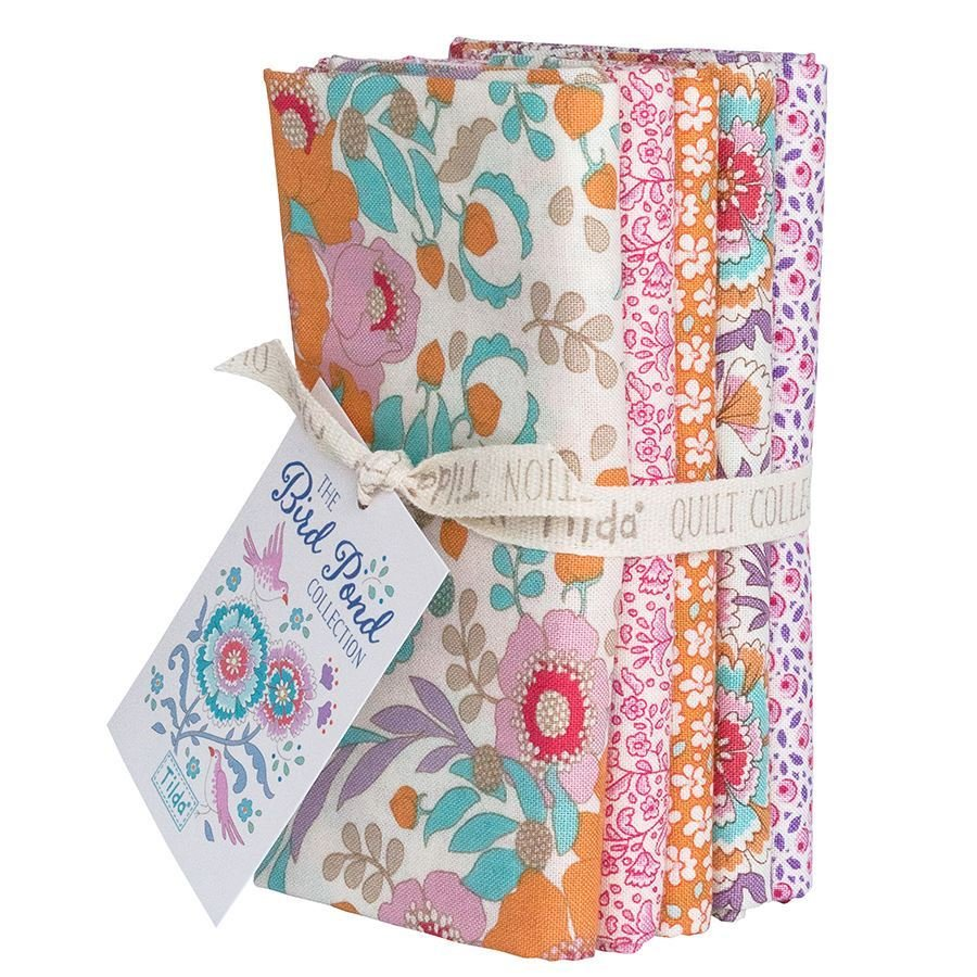 Birdpond Fat Quarter Bundle in Honey