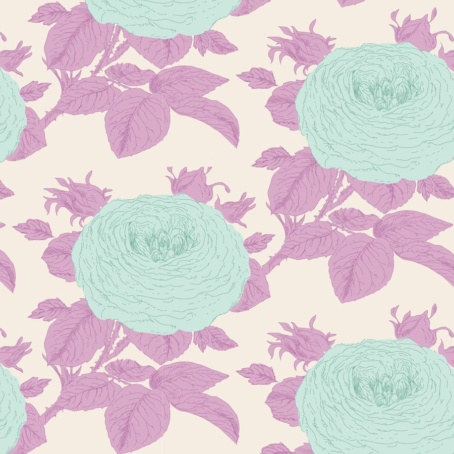 Sunkiss - Grandma's Rose in Lilac