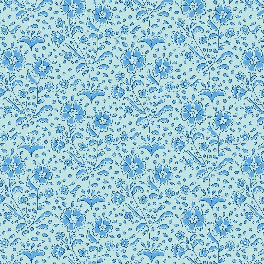 Birdpond - Mila Teal Blue