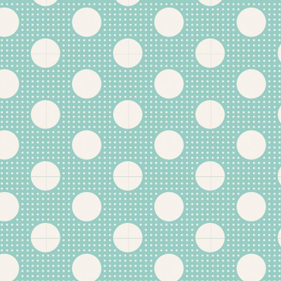 Tilda Basics - Medium Dots in Teal