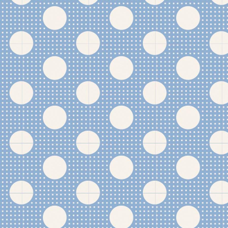 Tilda Basics - Medium Dots in Blue