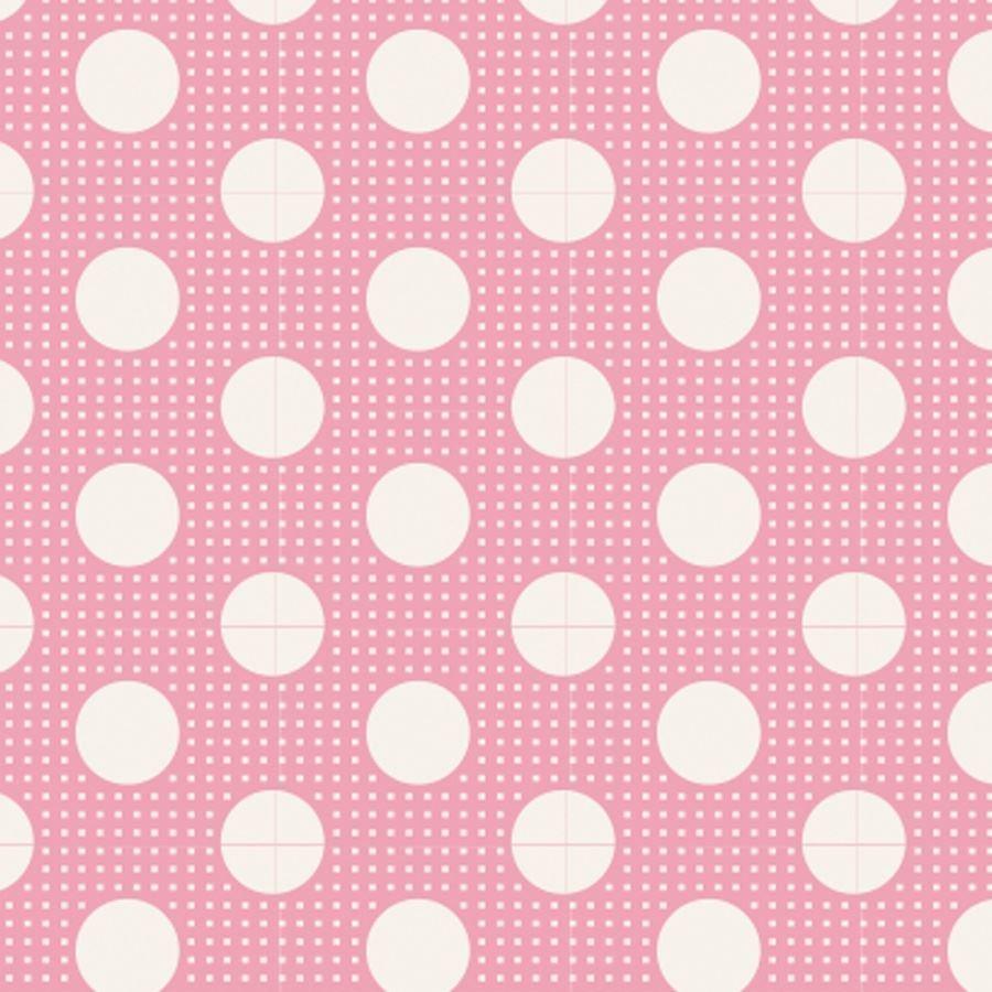 Tilda Basics - Medium Dots in Pink