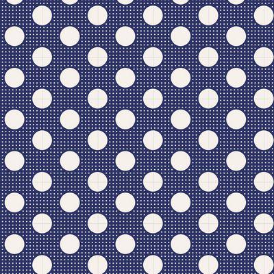 Tilda Basics Medium Dots in Night Blue
