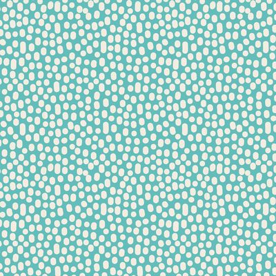 Tilda Basics Trickles in Teal 1/2 yd
