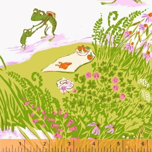 Briar Rose - Frog Pond in Lilac