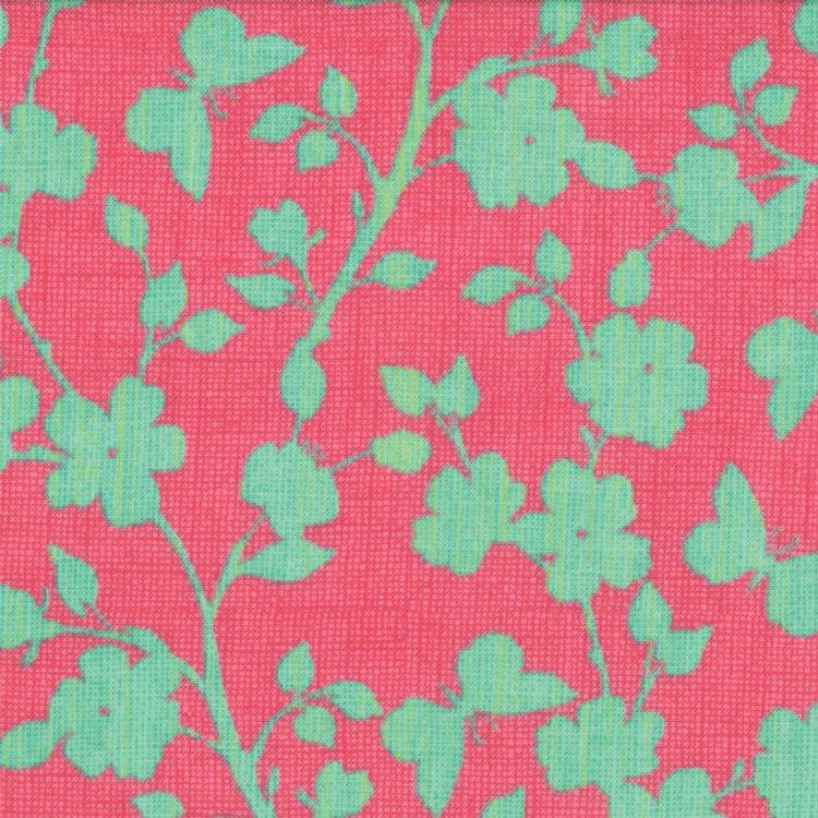 Spring House - Blossom in Raspberry